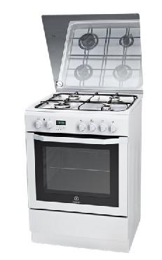 Kuchnia elektryczna z płytą gazową Indesit I6GMH6AG(W)/U