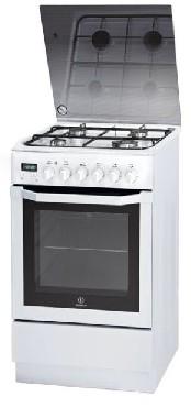 Kuchnia elektryczna z płytą gazową Indesit I5GMH5AG(W) U