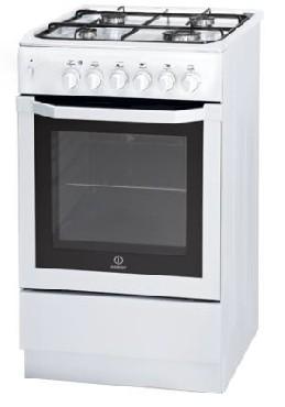 Kuchnia elektryczna z płytą gazową Indesit I5GSHA(W) U