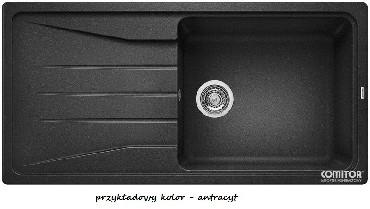 Zlewozmywak z ociekaczem Blanco SONA XL 6S Silgranit PURADUR II bez korka aut.