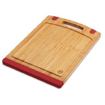 Deska bambusowa MG home 40x28 cm motyw czerwony