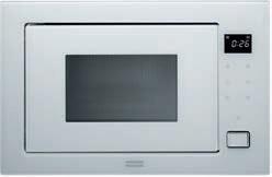 Kuchenka mikrofalowa z grillem Franke Studio FMW 250 CR2 G WH