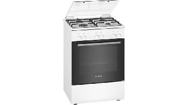 Kuchnia elektryczna z płytą gazową Bosch HXA090D20L