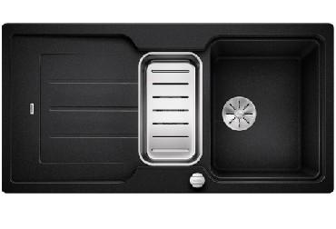 Zlewozmywak Blanco CLASSIC NEO 6S Silgranit PuraDur z akcesoriami z korkiem InFino