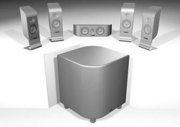 Zestaw głośników kina domowego Infinity TSS-800
