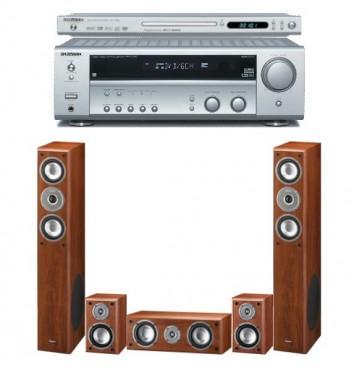 Zestaw kina domowego Kenwood KRF V5100D + DVF3300 + Monitor set 990