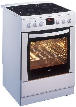 Kuchnia Elektryczna Z Płytą Ceramiczną Amica 601ce3434taykd W