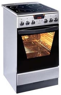 Kuchnia Elektryczna Z Płytą Ceramiczną Amica 53ce3413rtakd