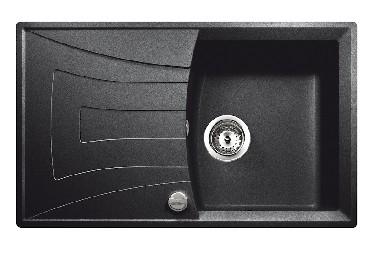 Zlewozmywak z ociekaczem Teka UNIVERSO 45 B-GT metalic