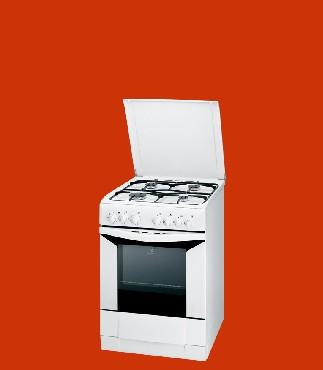 Kuchnia Elektryczna Z Płytą Gazową Indesit K6g52a W