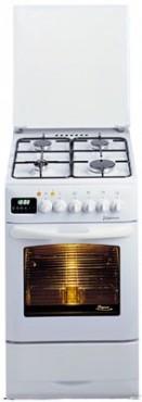Kuchnia Gazowo Elektryczna Z Piekarnikiem Mastercook Kge