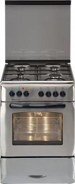Kuchnia Elektr Z Płytą Gazową Mastercook Kge 7320 X Plus