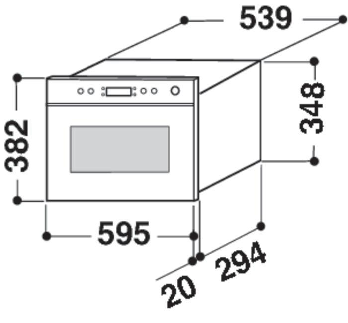 kuchenka mikrofalowa whirlpool amw 490 ix 844. Black Bedroom Furniture Sets. Home Design Ideas