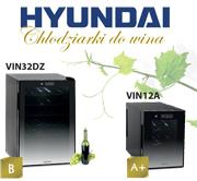HYUNDAI - najlepsze chłodziarki do wina!