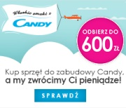 Kup Candy i odbierz do 600 z�
