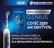 Nowa szczoteczka GENIUS ORAL-B