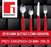 BERGNER + zestaw sztućców GRATIS!