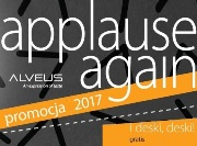 ALVEUS applause again i deski gratis!