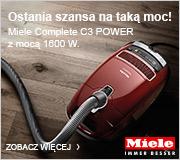 Miele Complete C3 POWER z mocą 1600 W