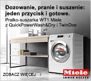 Zaufaj pralko-suszarce WT1 Miele