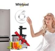 Wybierz lodówkę Whirlpool i odbierz wyciskarkę!