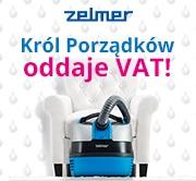 Kup odkurzacz Zelmer Aquawelt i odbierz VAT!