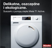 Nowe suszarki Miele T1 Active