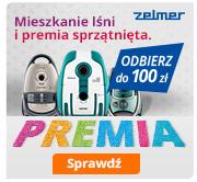 Kup odkurzacz Zelmer i odbierz do 100 zł premii!