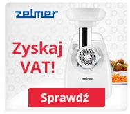 Kup maszynkę Zelmer i odbierz VAT!