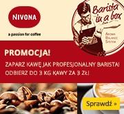 Kup NIVONA i odbierz do 3kg kawy za 3zł!
