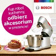 Kup robot kuchenny BOSCH i odbierz prezent!