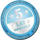 5 LAT GWARANCJI CANDY
